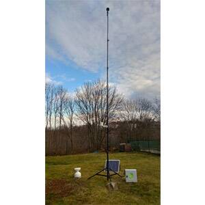 Portable weather mast