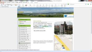 SW Web View - web application for informing the public about air quality